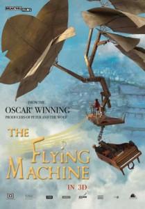 2011 – LATAJĄCA MASZYNA / THE FLYING MACHINE, reż. Martin Clapp, wykonanie dekoracji, rekwizyty